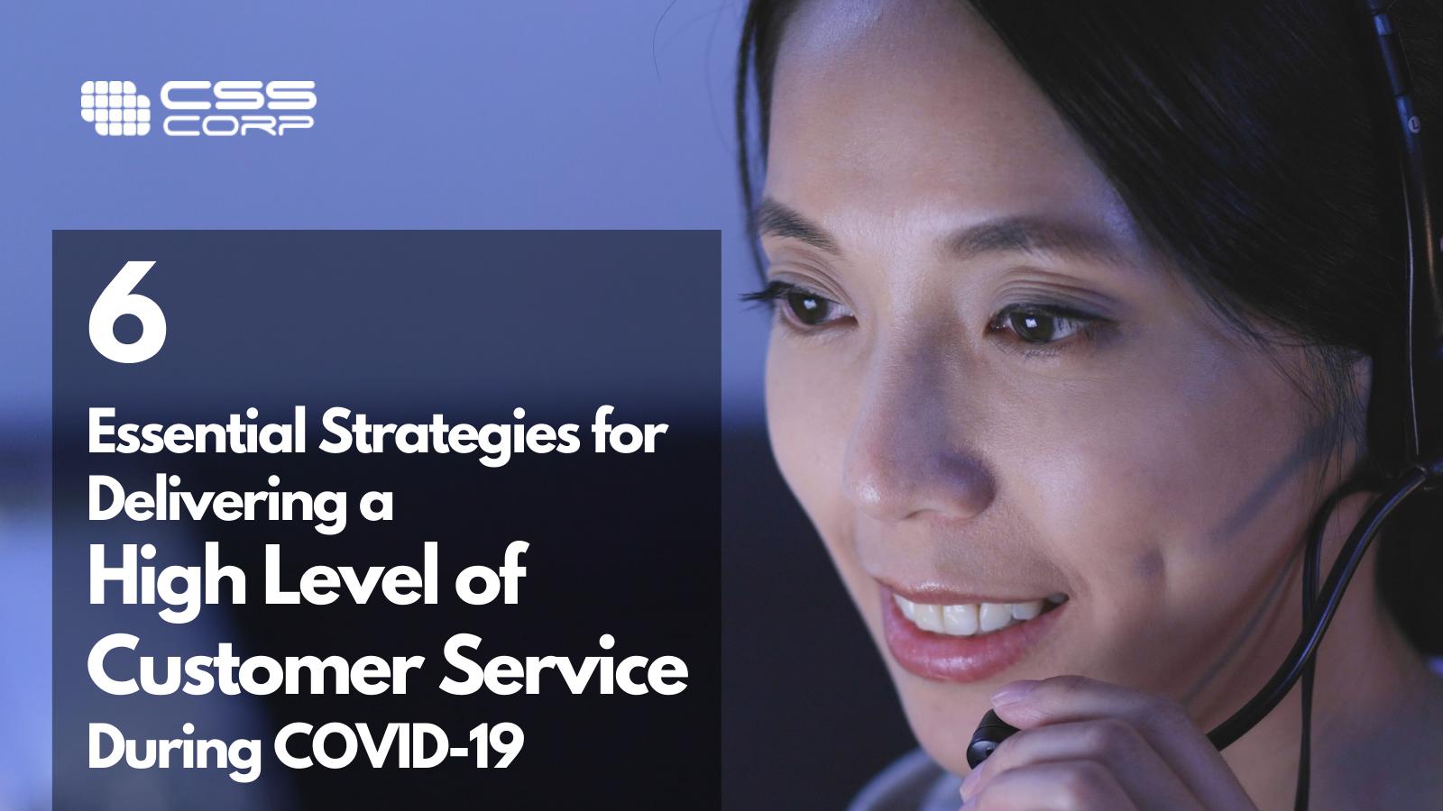 Blog banner - 6 strategies for high level of customer service - V2