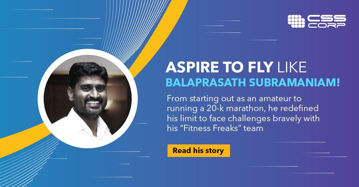 CSS Social Media Banner - Balaprasath 2