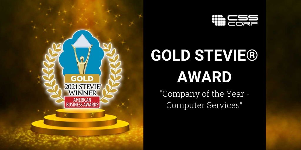 CSS Corp Wins Gold Stevie® Award—Company of the Year