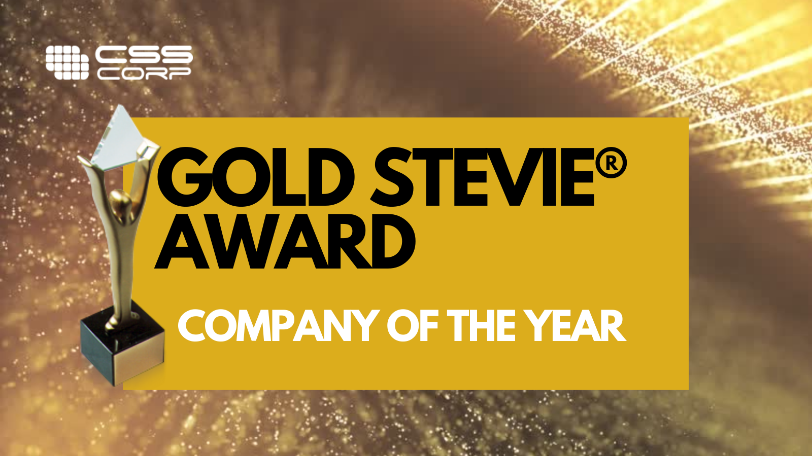 CSS Corp wins Gold and Bronze—STEVIE® Awards 2021