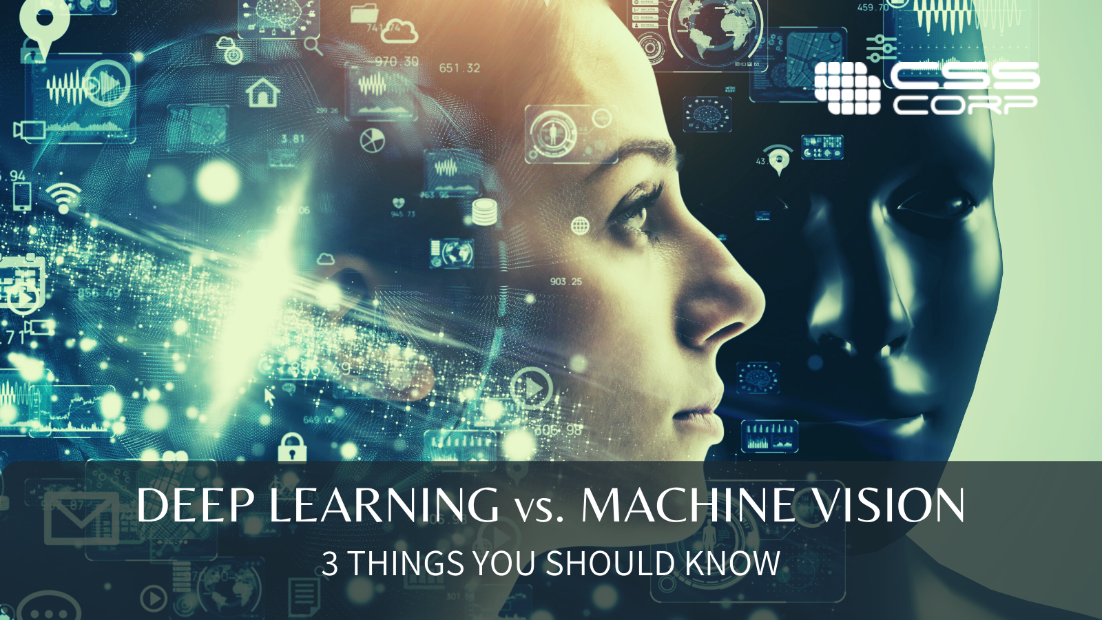 Deep Learning vs. Machine Vision - 3 things you should know