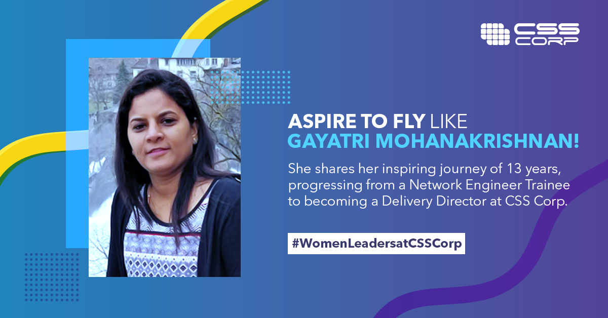 Climbing up the corporate ladder, Gayatri Mohanakrishnan, beats the odds!