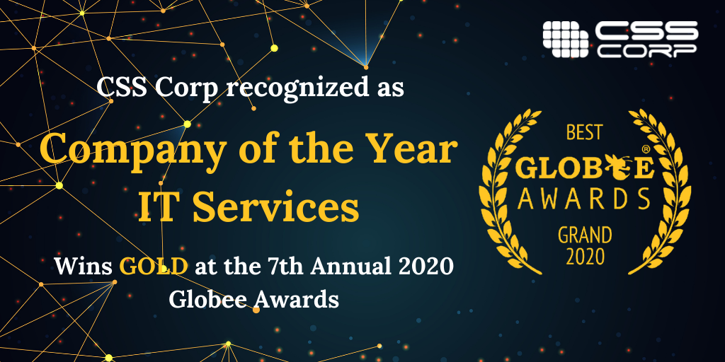 CSS Corp Wins Gold in the 7th Annual 2020 Globee Awards®